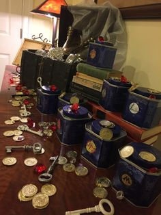 One Awesome Harry Potter Birthday Party!.jpg #harrypotter #mamastrong #birthday #birthdayparties #muggles #harry #gringotts #ollivanders #owlery #greathall #wizards #hogwarts