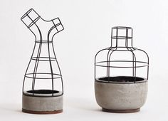 V4 vases by Seung-Yong Song