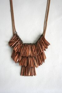 Fringe necklance and/or belt
