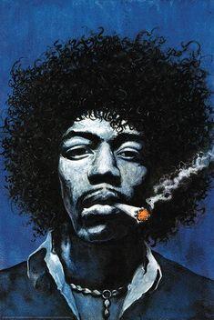 New music arte poster jimi hendrix Ideas Jimi Hendrix Blues, Jimi Hendrix Quotes, Jimi Hendrix Poster, Rock Posters, Band Posters, Jimi Hendricks, Foto Gif, Jimi Hendrix Experience, Blue Poster