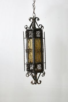 vintage iron chandelier - 86 Vintage