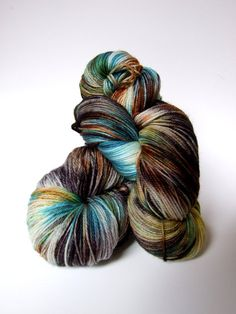 Hand dyed yarn Cashmere Fingering