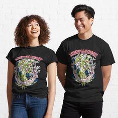 Promote   Redbubble Dark Navy Blue, Kawaii Fashion, My T Shirt, Tshirt Colors, Female Models, Chiffon Tops, Classic T Shirts, Shirt Designs, T Shirts For Women