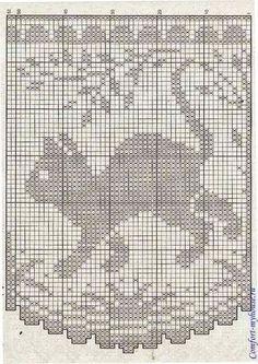 Crochet Blinds ... штора котики филейные