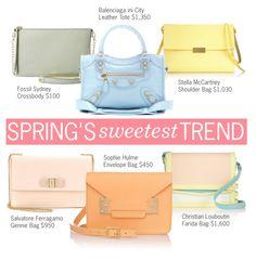 8d66581eeaf4 Spring's Sweetest Trend: Pastel Shoulder Bags Accessorize Bags, Pastel  Shades, Shoulder Bags,