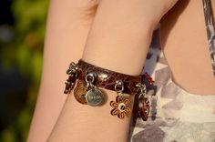 Prada charms bracelet