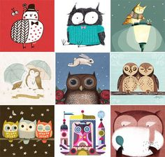My Owl Barn Printable Calendar