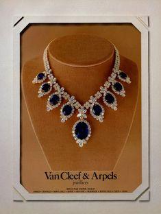 Van Cleef & Arpels 1980 La Boutique Vintage advert Jewelry | Hprints.com