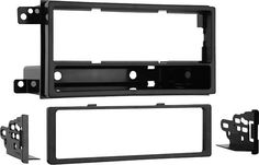 Metra - DIN Installation Kit for Select Subaru Impreza and Forester Vehicles - Black