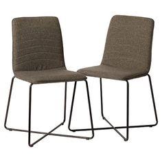 Linen Upholstered Parsons Chair
