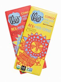 This month Theo Chocolate, in partnership with Eastern Congo Initiative (ECI), is proud to launch its first ever series of chocolate bars made entirely from Congolese cocoa. The bars are available online, and will be available at Whole Foods stores nationwide starting later this month for $4.99 (US).