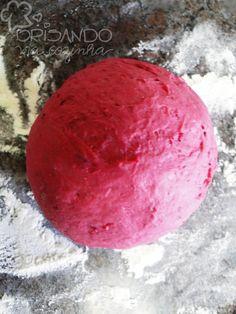 Brisando na Cozinha: Pão de beterraba