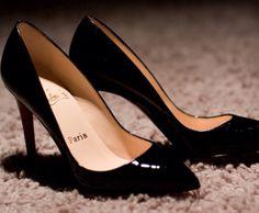 Black high heels cool pumps