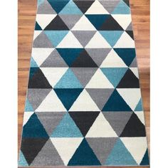 You'll love the Abreu Rainbow Gray/Blue Runner Rug at Wayfair - Great Deals on all Rugs products with Free Shipping on most stuff, even the big stuff.