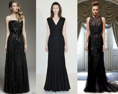 Madrinhas de casamento: Vestido de festa preto