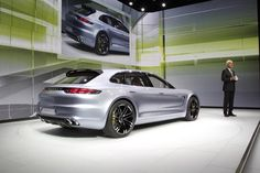 Porsche Panamera Sport Turismo Concept at the 2012 Paris Motor Show