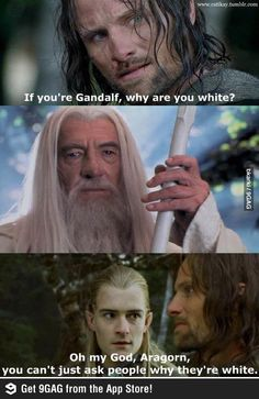 Omg Aragorn... Mean girls style.