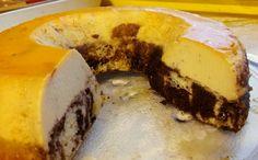 Marmolado flan o pastel imposible