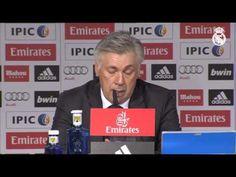 Youtube Ancelotti: Hemos dado la cara y jugado muy bien