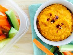4 Ways to Enjoy Roasted Red Pepper & Pumpkin Hummus. This hummus. So good. I've made it so many times!