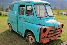 The Short Bus: Dodge Postal Delivery Van - http://barnfinds.com/the-short-bus-dodge-postal-delivery-van/
