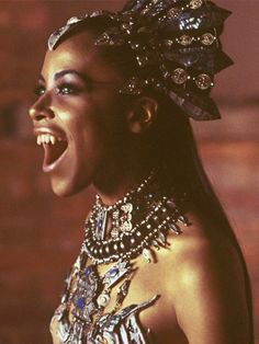 Aaliyah as the vampire queen Akasha in Queen of the Damned (2002)
