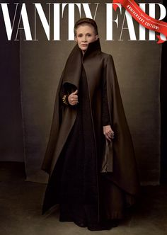 Princess Leia, Carrie Fisher, in the upcoming Star Wars: Episode VIII - The Last Jedi. Annie Leibovitz exclusively for Vanity Fair Star Wars Jokes, Star Wars Facts, Vanity Fair, Ella Enchanted, Leia Star Wars, Star Wars Costumes, Annie Leibovitz, The Hollywood Reporter, Carrie Fisher