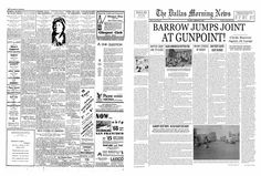 bonnie and clyde newspaper articles - Google Search