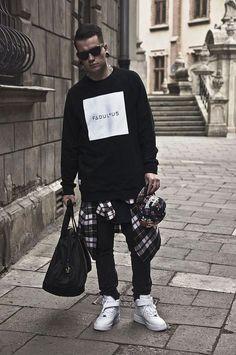 Streerwear Swag Men Fashion http://www.buzzblend.com