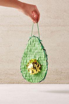 Adorable Mini Avocado Pinata by Urban Outfitters | Pinterest: Natalia Escaño