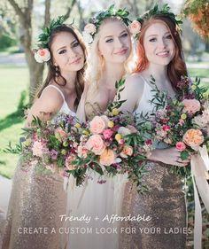 5090d3eddb9 35 Popular BRIDESMAID DRESSES UNDER  150 images