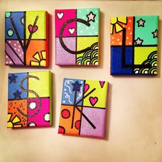 #letters #name #names #sun #hearts #flowers #initial #initials #glitter #colors #colorful #mini #canvas #painting #artwork #buy #shop #order