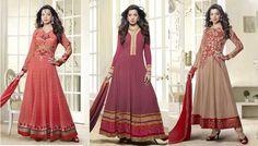 Catalog Name : SS2417  Designs : 5 MOQ : Full Catalog http://www.ekhantil.com/designer-long-floor-length-anarkali-suit-manufacturer/ #salwarsuit#anarkali#replica#suit#dress#dressmaterial#salwarkameez