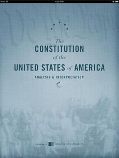 "Centennial Edition of ""Constitution of the United States of America: Analysis and Interpretation"" Now Available In A Variety of Formats 