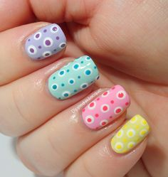 Dipped in Lacquer: Easter Nail Art Challenge Day 5 - Pastels