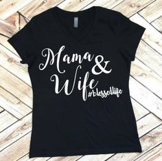Mom Tee Mama and Wife blessed life #mamalife V-neck mom funny womens life shirt ladies Tee Racer Back Tank Top Shirt Yoga  Custom Colors, P by spillthebeansetc on Etsy https://www.etsy.com/listing/267135820/mom-tee-mama-and-wife-blessed-life