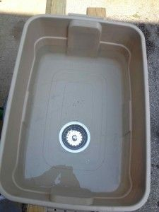 Lightweight, Full Size camping Sink DIY For Cheap | Camping | Diy