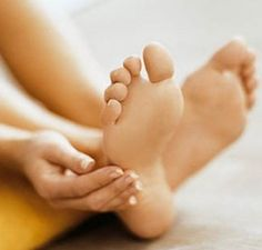Hmmm.... Listerine: the BEST way to get your feet ready for summer. Sounds crazy but it works! Mix 1/4c Listerine (any kind but I like the blue), 1/4c vinegar and 1/2c of warm water. Soak feet for 10 minutes and when you take them out the dead skin will practically wipe off!