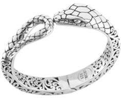 Silver snake bracelet by Lois Hill Accessories