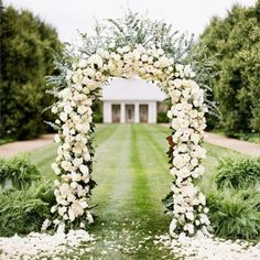 Create the arch of your dreams for party or wedding with a metal arch and plenty of flowers! x Decorative Metal Wedding Arch - White Metal Wedding Arch, Wedding Arbors, Metal Arch, Garden Wedding, Dream Wedding, Wedding Tips, White Wedding Arch, Wedding Photos, Wedding Verses
