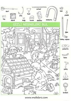 Highlights Hidden Pictures: Bumper Crop Details - Rainbow Resource Center, Inc. English Activities, Activities For Kids, Colouring Pages, Coloring Books, Highlights Hidden Pictures, Hidden Pictures Printables, Find The Hidden Objects, Hidden Picture Puzzles, Rainbow Resource