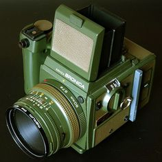 """Rare Bronica SQ-A Safari Limited Edition. Zippertravel.com"
