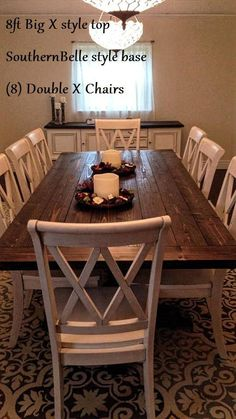 We build custom quality and rustic farmhouse style wood furniture