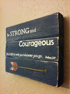 Hey, I found this really awesome Etsy listing at https://www.etsy.com/listing/198095826/boys-room-woden-sign-be-strong-and