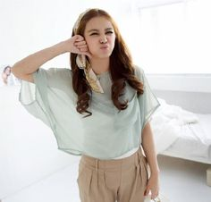 Pure Color Single Pocket Loose Chiffon Top Green (BX11081106-1)http://www.clothing-dropship.com/pure-color-single-pocket-loose-chiffon-top-green-g1367767.html