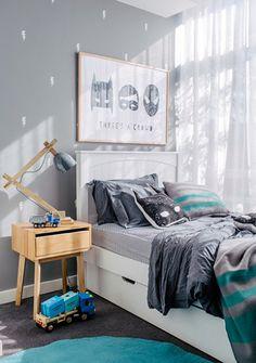 Modern boy bedrooms / 2 cuartos para niños con mucha onda // casahaus.net