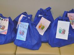 Girl Scouts Donate 'Birthday Bags' to Food Pantry