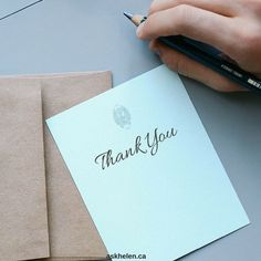 How to write a thank-you note: writing tips and etiquette Best Thank You Message, Thank You Messages, Thank You Letter, Thank You Notes, Your Message, Thank You Gifts, Affirmations Positives, Customer Appreciation, Teacher Appreciation
