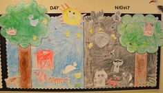 A Place Called Kindergarten: day and night