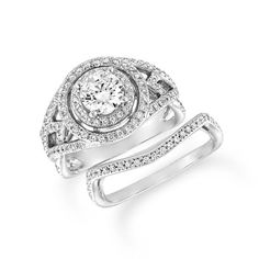 Wedding and engagement rings can be purchased as a set to ensure the best possible match when they are worn together. Some brides even choose to have their wedding and engagement rings soldered together after their ceremony, to form one band which signifies their entire commitment. JH Faske Jewelers (979)836-9282